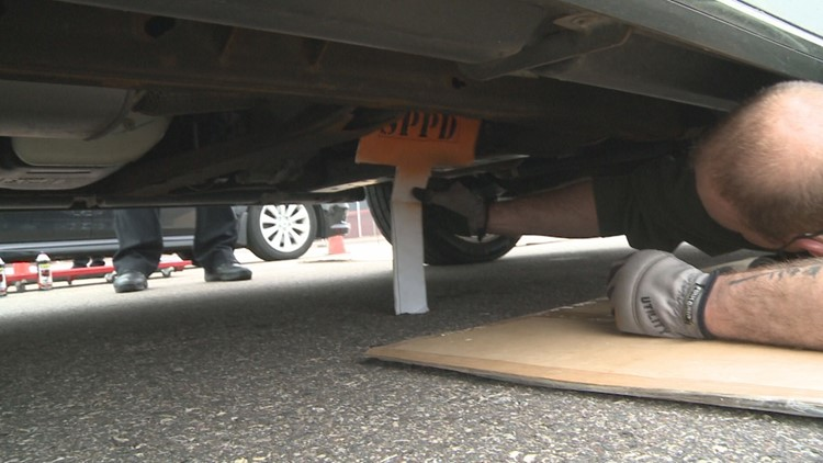 Police work to deter thieves as number of stolen catalytic converters rises