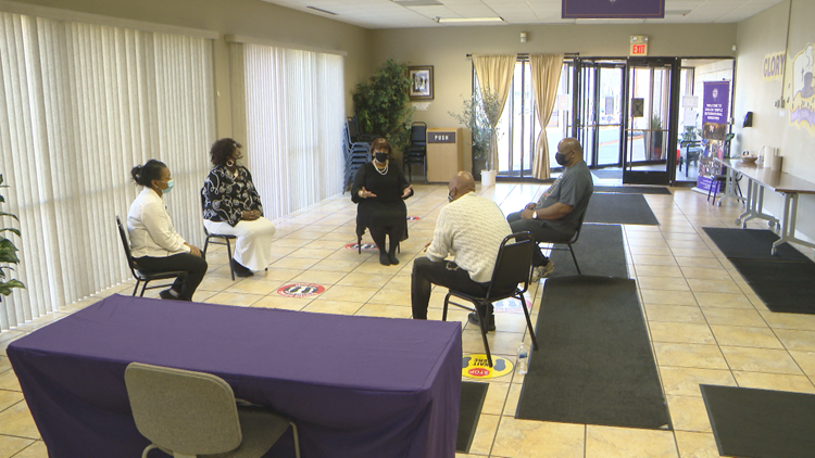 Shiloh Temple offers 'Safe Space' for those wanting to talk about Chauvin trial