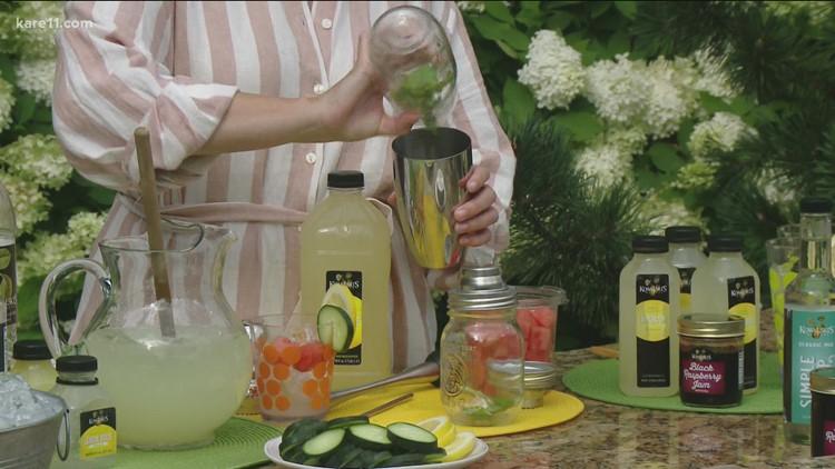 RECIPE: Fresh flavored lemonades