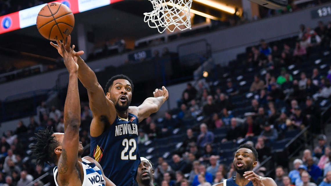 Ingram scores 34, Pelicans beat Wolves to snap 13-game skid