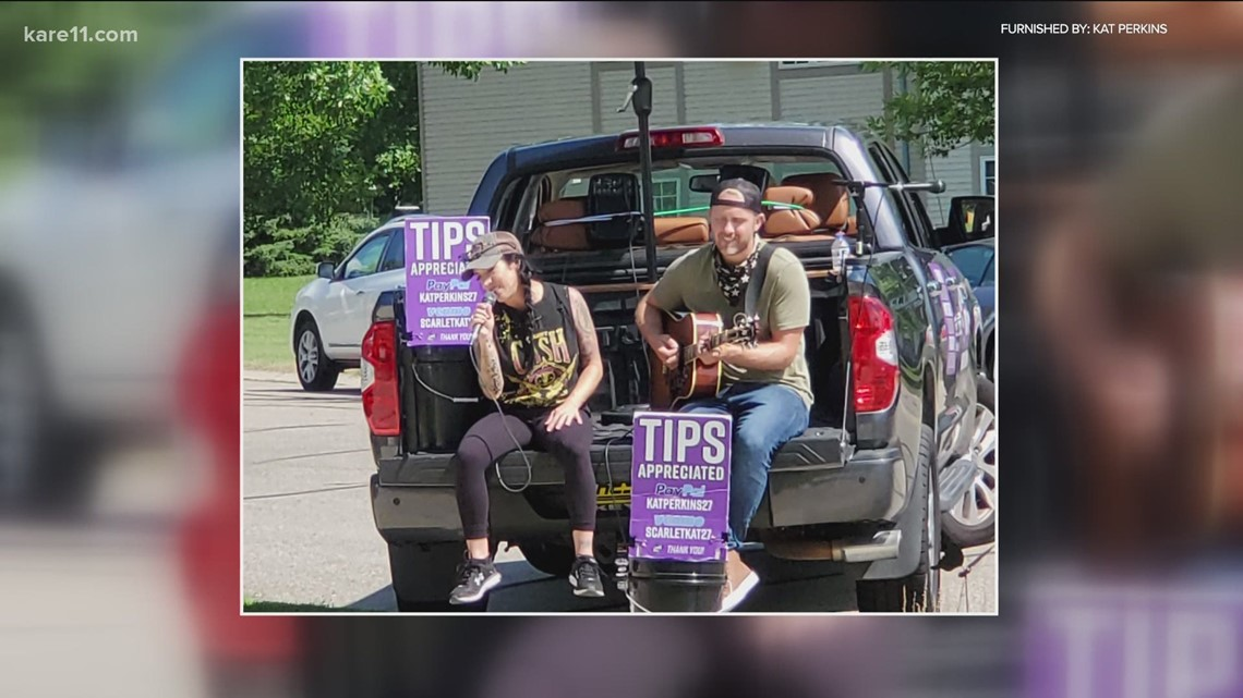 Women Crushing It Wednesday: Kat Perkins' curbside concerts