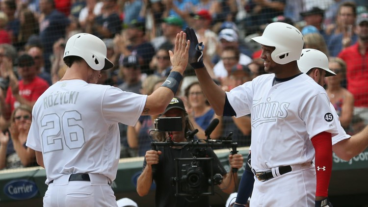 Cron, Schoop power Twins to 7-4 win over Tigers