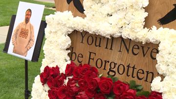 Fallen corrections officer Joseph Gomm remembered