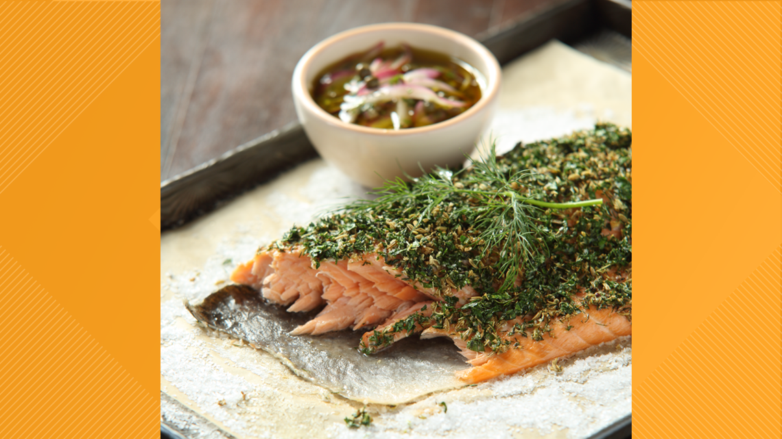 RECIPE: Perfect Herb-Baked Salmon