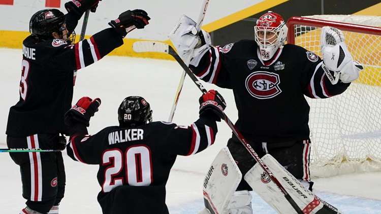 St. Cloud State men's hockey team advances to its first national title game