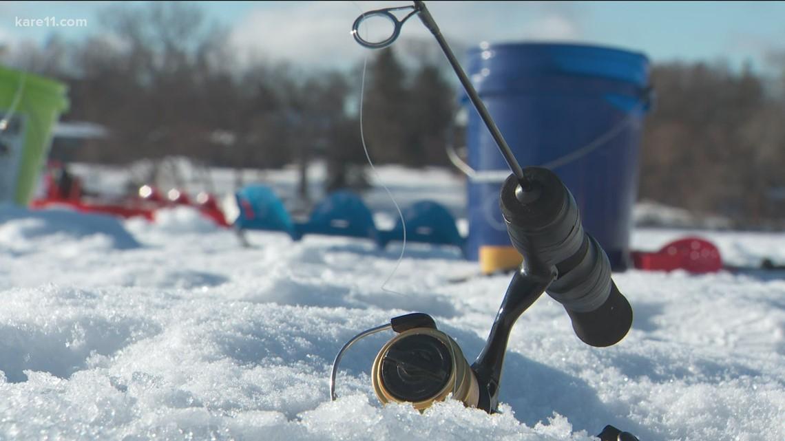 Hitting The Trails: Ice fishing