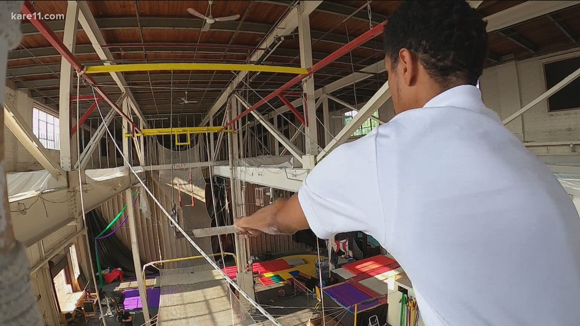 Guy's Games: The Twin Cities Trapeze Center