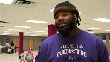Vikings' Dalvin Cook and Sheldon Richardson Give Back
