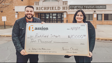 Metro church gives more than $92K to pay for student lunch debt