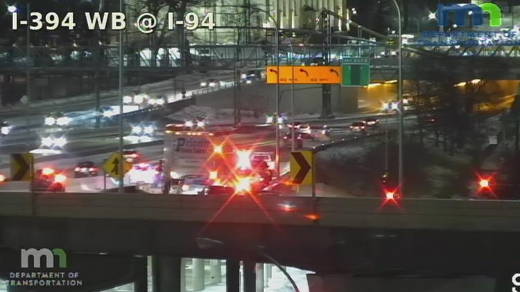 Crashes across the metro make for messy morning commute