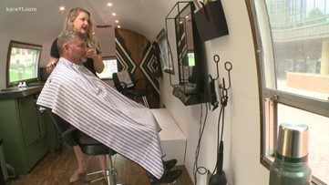 Mobile men's salon rolls into Minnesota