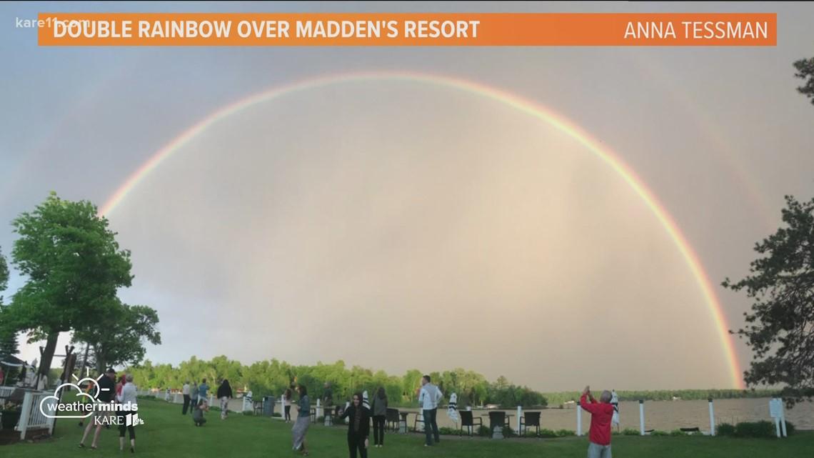 WeatherMinds: Double rainbows