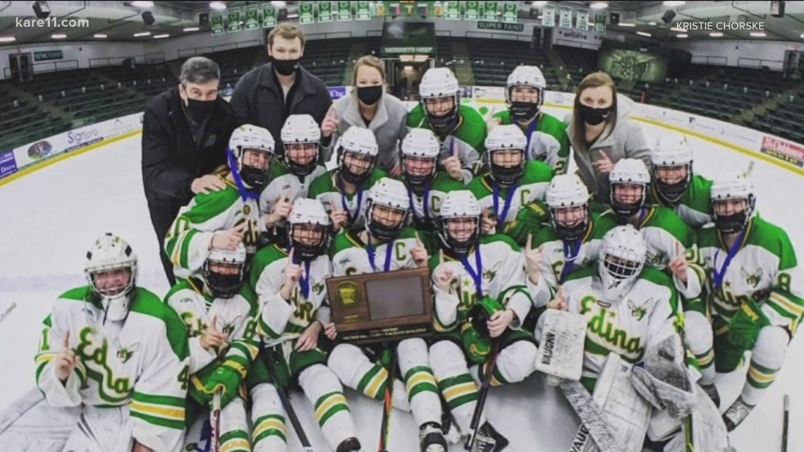 Girls hockey tournament kicks off with COVID restrictions, fan limits and one forfeit so farppoo
