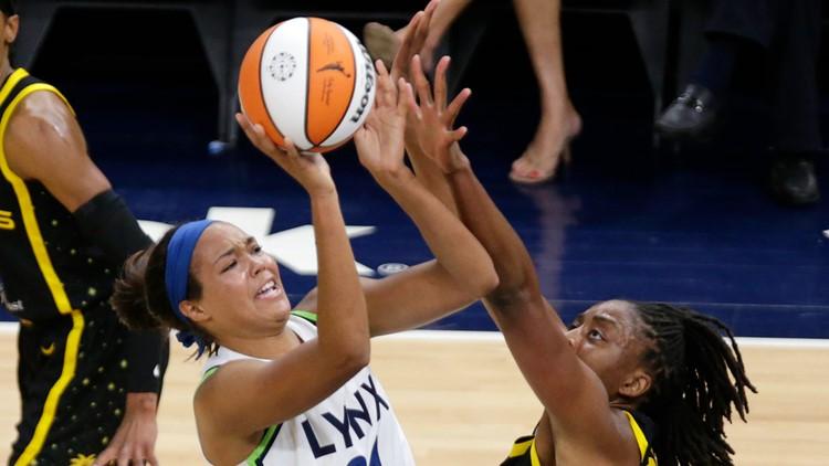 Kayla McBride, Sylvia Fowles lead Lynx past Sparks, 66-57