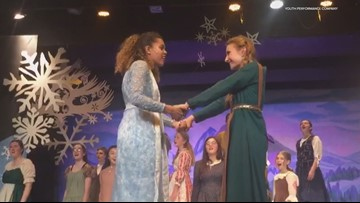 Real life sisters featured in local production of Frozen