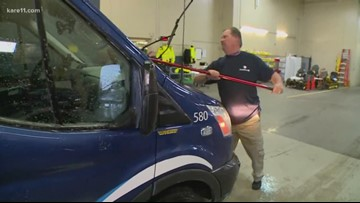 Managers taking on extra work to give EMS staff a break