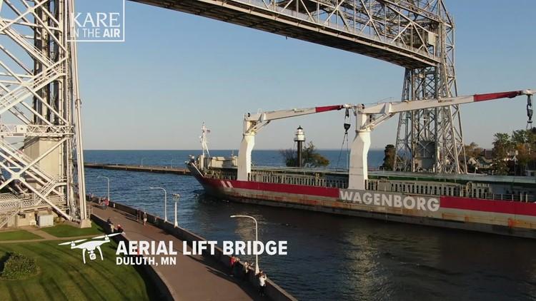 KARE in the Air: Duluth Aerial Lift Bridge