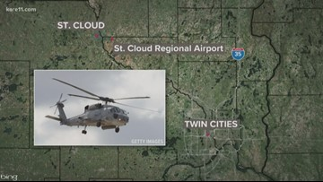 National Guard loses contact with St. Cloud-based helicopter