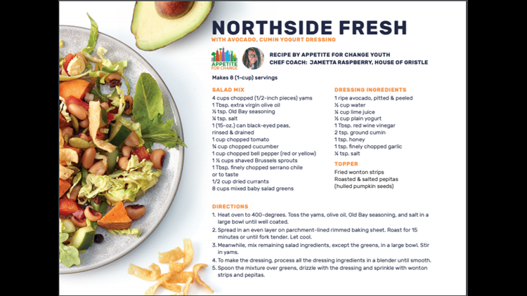 Northside Fresh salad