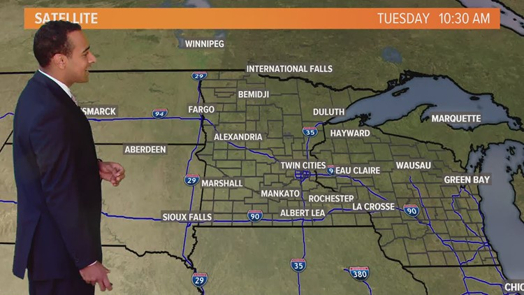 Midday weather forecast 7-31-18 | kare11.com
