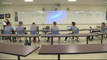 St. Thomas Academy tackles the ref shortage