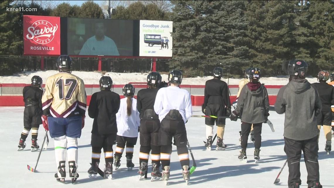 Wild defenseman Matt Dumba helps host 'Hockey Without Limits' camp