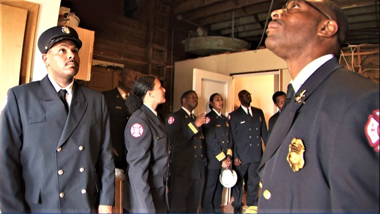 Firefighters 'emotional' after touring largely forgotten all-Black Minneapolis fire station