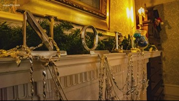 Glensheen Mansion decked out for the Holidays