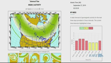 WeatherMinds: Geomagnetic storm may reveal Northern Lights