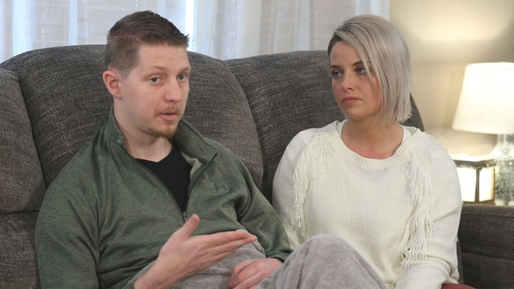 Arik and Megan Matson describe journey of determination, frustration and faith after shooting