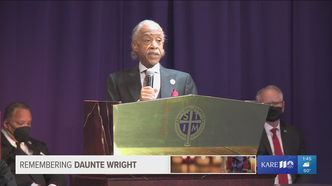 Rev. Al Sharpton honors Daunte Wright as 'The Prince of Brooklyn Center'