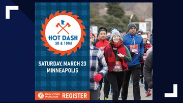 Hot Dash 5K & 10 Mile is Saturday, March 23rd