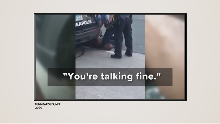 KARE 11 Investigates: Floyd's ability to talk did not mean he could breathe