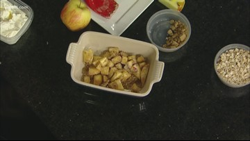 RECIPE: Seasonal fruit crisp