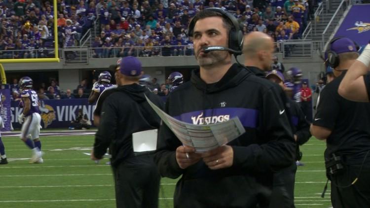 Kevin Stefanski to return to Vikings as permanent OC