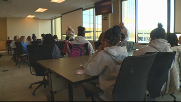 Middle school girls wow Cargill exec with tech skills