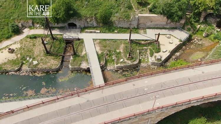 KARE in the Air: Mill Ruins Park