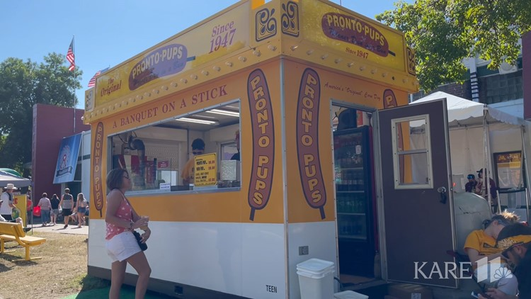 KARE 11's Guy Brown tries fan favorites at the Minnesota State Fair