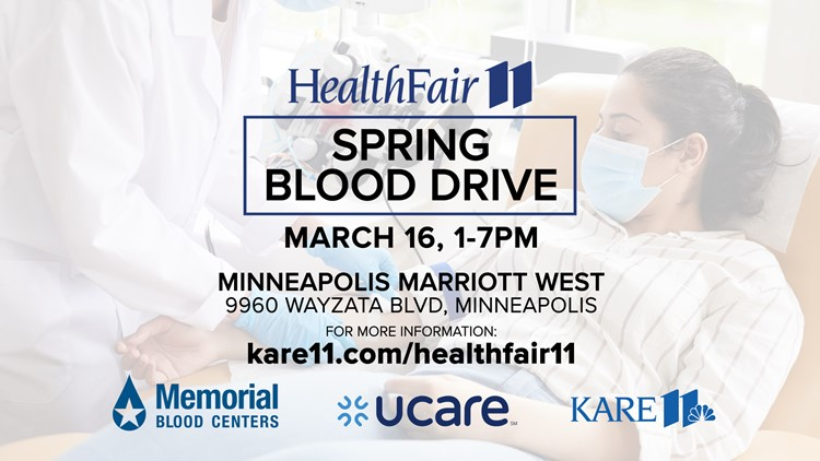 Book appointments now for Health Fair 11 Spring Blood Drive