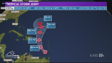WeatherMinds: Tropical Storm Jerry