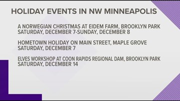 Get into the holiday spirit with upcoming activities in the northwest Metro