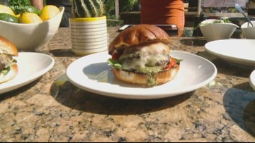 Book Club's James Beard blended burger