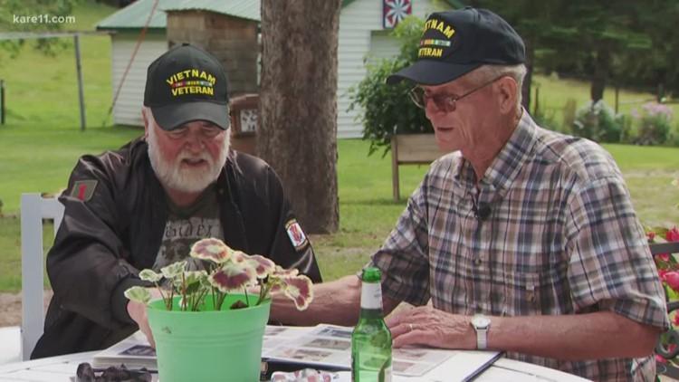 Best buddies during Vietnam War reunite after 53 years