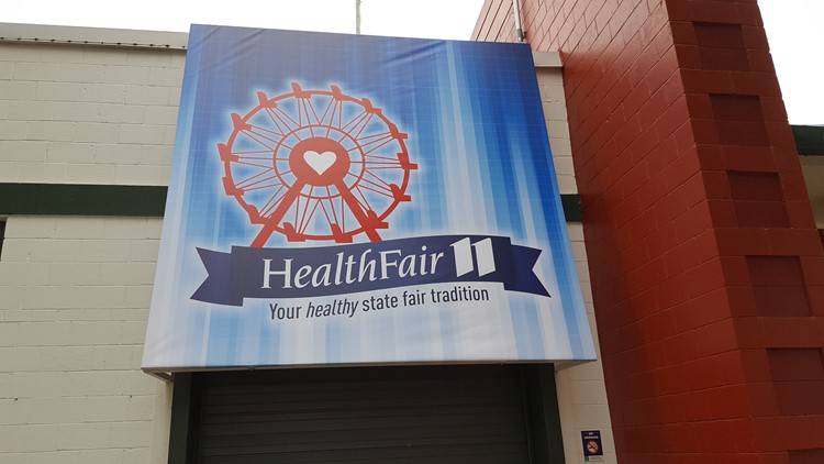 Health Fair 11 at the Fair is located at Dan Patch Avenue and Cooper Street.