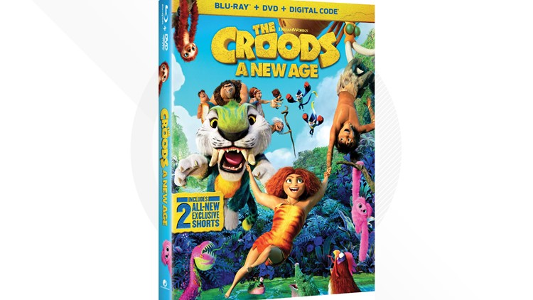 Contest Ended: Win a Blu-Ray/DVD copy of 'The Croods: A New Age'