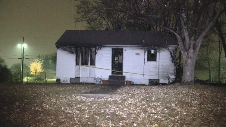 Spring Lake Park house fire