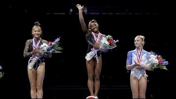 2 Minnesota gymnasts relive trip to podium at U.S. Championships
