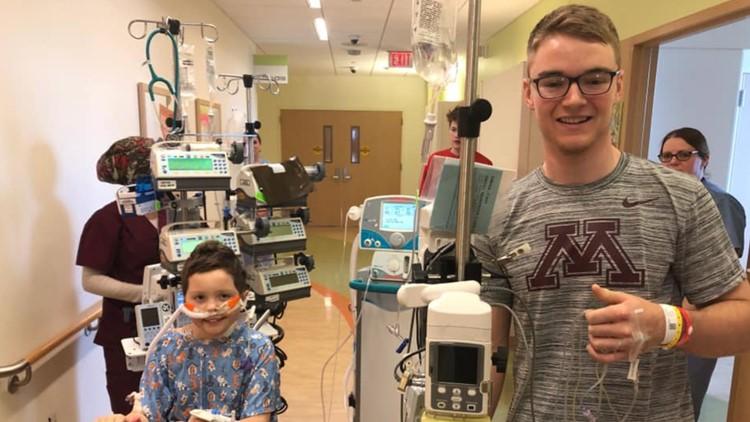 Casey O'Brien hospital visit