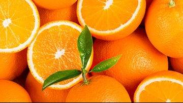 Zesty and tangy citrus