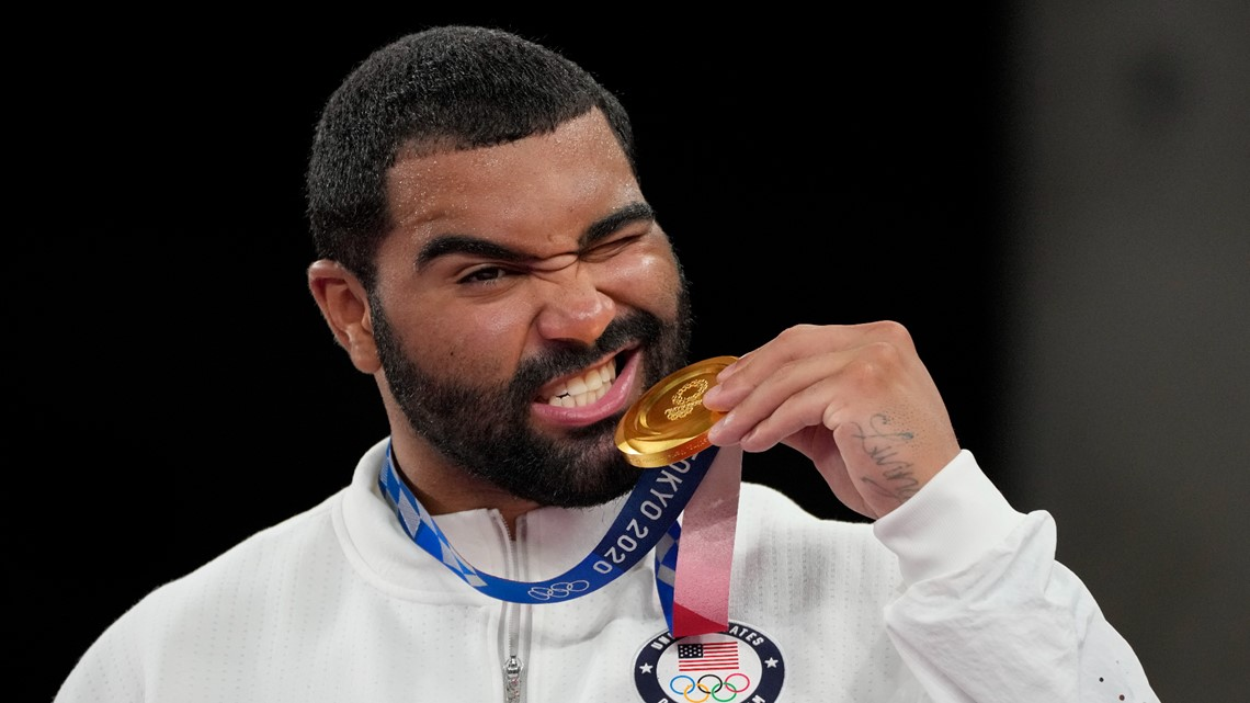 Gable Steveson talks about winning Olympic gold in Tokyo